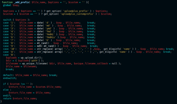 My color scheme on Sublime Text 2 (linux)